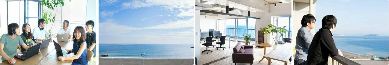 シッピーノ 社内風景とカスタマースタッフの写真